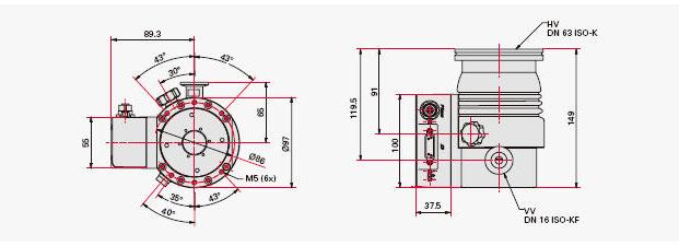 10-800 l/s 适用领域: 1. 分析仪器(质谱分析法、显微镜等) 2. 半导体行业(电子组件、集成电路、太阳能电池等) 3. 光学/玻璃行业(隔热保护、防反射、反射、滤光镜镀膜等) 4. 真空镀膜技术(表面保护、装饰土层、显示技术、屏幕等) 5. 真空冶金(真空焊接、真空烧结、真空合金、真空炉等) 6.