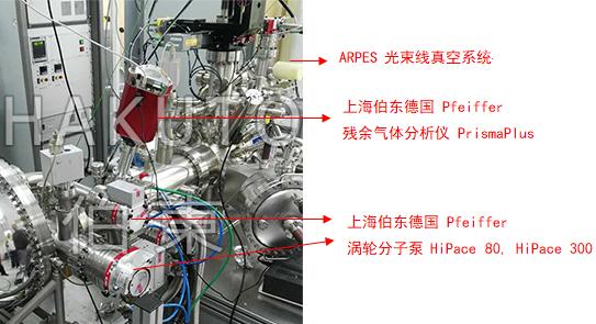 涡轮分子泵应用于 ARPES 角分辨光电子能谱