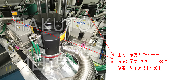 涡轮分子泵  HiPace 1500 U