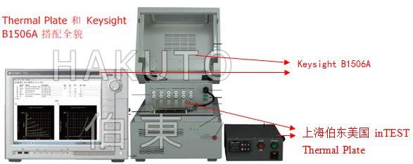 inTEST 搭配 Keysight 功率器件温度测试